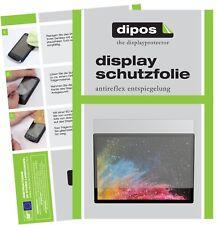 2x Microsoft Surface Book 2 Schutzfolie matt Displayschutzfolie Folie Display