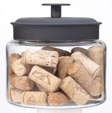 Anchor Hocking Montana Glass Mini Jar Storage Coffee Sugar Sweets Jar 48oz