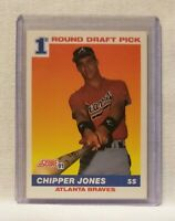 1991 Score Chipper Jones Atlanta Braves #671 Baseball Card NM/M