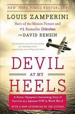 Devil at My Heels: A Heroic Olympian's Astonishing Story of Survival-ExLibrary