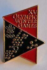 Vintage 1988 Calgary XV Olympic Winter Games Lapel Pin Collectible Souvenir