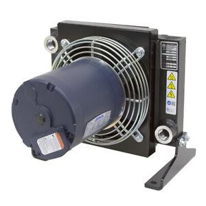 30 GPM AKG AR5-3 Oil Cooler w/ 230/460 Volt 3Ph Fan 9-12676-5-3