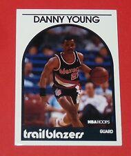# 71 DANNY YOUNG TRAILBLAZERS PORTLAND 1989 NBA HOOPS BASKETBALL CARD