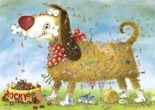 NEW! Heye Dogs Life by Marino Degano 1000 piece cartoon comic jigsaw puzzle