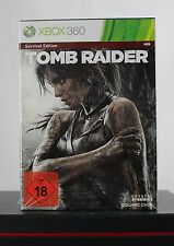 Tomb Raider Survival Edition (Microsoft X360/Xbox 360, 2013) Neu OVP