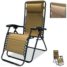 Zero Gravity Chair Infinity, Beige, Extra Wide By Caravan Sports