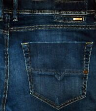 Original DIESEL TEPPHAR 0860L Jeans Slim Carrot Skinny Darkblue W 36/34 Sleenker