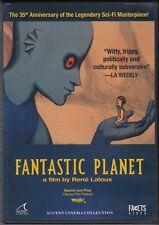 FANTASTIC PLANET 2007 DVD Rene Laloux
