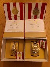 Chivas Reloj Oficial del Centenario, Dorado - Pareja