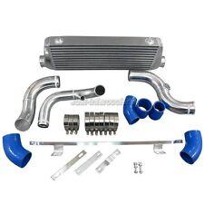 "FMIC Intercooler Kit 2.5"" Core For 94-01 A4 B5 Audi Blue Hoses"