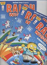 SIMPSONS COMICS PRÄSENTIERT: RALPH WIGGUM # 1 VARIANT-SET 1+2+3 - MÜNCHEN 2013