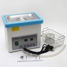 5L litro Dentale Pulitore ad ultrasuoni Cleaner Lavatrice Pulitore + cestino IT