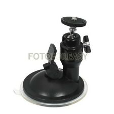 Mini Suction Cup Ballhead Mount Tripod Holder für Car Window Screen GPS Camera