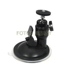 Mini Suction Cup Ballhead Mount Tripod Holder For Car Window Screen GPS Camera