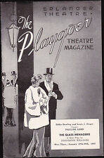 The Glass Menagerie Pauline Lord January 27 1947 Playgoer- Erlanger Theatre