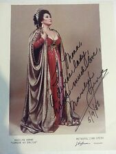 MARILYN HORNE -  SIGNED PICTURE FROM SAMSON ET DALILA OPERA
