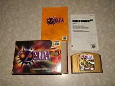 N64 ZELDA MAJORA'S MASK COLLECTORS EDITION COMPLETE WITH BOX
