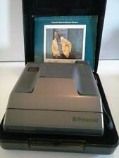 Polaroid Spectra System Camera Hard Case Manual Clean Tested Working
