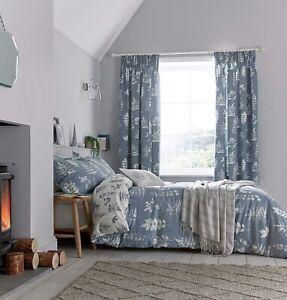 Sanderson Laurel (Navy) Bedding Cover Sets, Curtains, Cushions