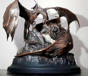 """NEW Shadow of War Mithril Edition 12"""" Tar-Goroth Balrog vs. Carnan STATUE ONLY"""