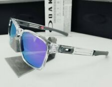 OAKLEY polished clear/violet iridium