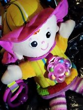 * GREAT COND 'Lamaze:My Friend Emily' Baby Learning Soft Doll Pram Stimulation *