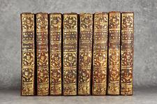 LES ŒUVRES DE M. L'ABBÉ DE SAINT RÉAL, NOUVELLE ÉDITION. 1757. 8 VOLUMES.