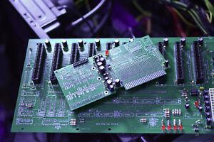Raspberry Pi Cluster ATX backplane using Apple II Raspberry card