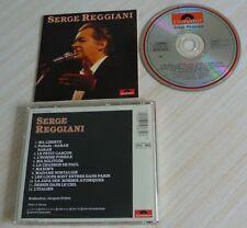 CD ALBUM BEST OF SERGE REGGIANI 12 TITRES 1983