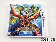 Monster Hunter Stories Nintendo 3DS Japanese Import JP US Seller A