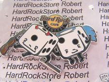 2014 HARD ROCK CAFE FOXWOODS ANGEL & DEVIL DICE LE PIN