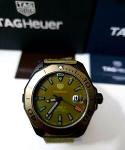 TAG Heuer WAY208E.FC8222 Aquaracer Calibre 5 Titanium Khaki Automatic 300m Watch