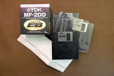 TDK MF-2DD Double Sided Double Density Micro Floppy Disk Super Electron Beam NEW