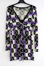 MARCCAIN PULLOVER DONNA N5 40 L 42 XL Lana seta cashmere Pullover di maglia