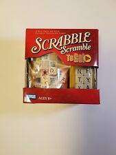 Scrabble Scramble To Go Game Travel Game Parker Brothers Hasbro 2+ Players NEW