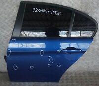 BMW 3 Series 6 E90 Door Rear Left N/S Montegoblau Montego Blau Blue - A51