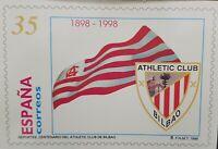 ENTERO POSTAL 1998 CENTENARIO ATHLETIC CLUB DE BILBAO FUTBOL SC A/35 NUEVO