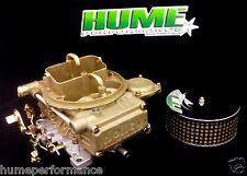 "HOLLEY 750 CFM VAC SEC MARINE BOAT CARBURETTOR ""J"" TUBES RECO NEW FLAME ARRESTOR"
