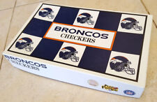 NFL Checkers, Denver Broncos vs Kansas City Chiefs-Play Football-Board Game-1993