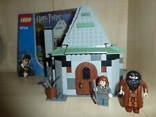 LEGO HARRY POTTER 4754 HAGRIDS HUT 2ND ED HERMIONE TIME TURNER RARE INSTRUCTIONS