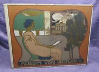 Album von berlin Charlottenburg & Potsdam 1904 Ortskunde Jugenstileinband sf