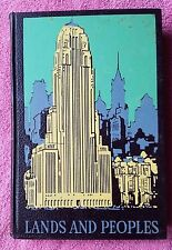 Grolier LANDS AND PEOPLES Volume 6 VI Canada and the United States 1959