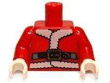 LEGO noël santa torse pour minifigures neuf