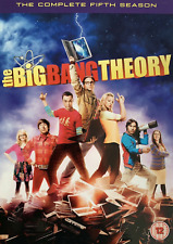The Big Bang Theory Series 5 DVD 3 Disc Set with cover New and Sealed