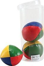 Set di 3 professional giocoleria palline Circo Clown Colorato Imparare a destreggiarsi tra giocattolo