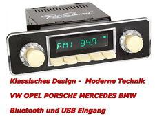 USB MP3 Retro Design Oldtimer Autoradio VW Käfer 1968 bis 1985 Bluetooth rsp502
