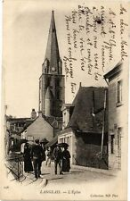 CPA  Langeais - L'Église  (228637)