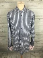 Men's Ted Baker Archive Shirt - Size 17 - Striped - Great Condition
