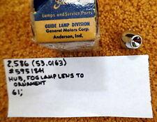 1961 Cadillac Fog Lamp Lens Hub Ornament NOS 5951841