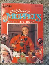 Jim Henson's Muppets Knitting Book Sweaters And Toys